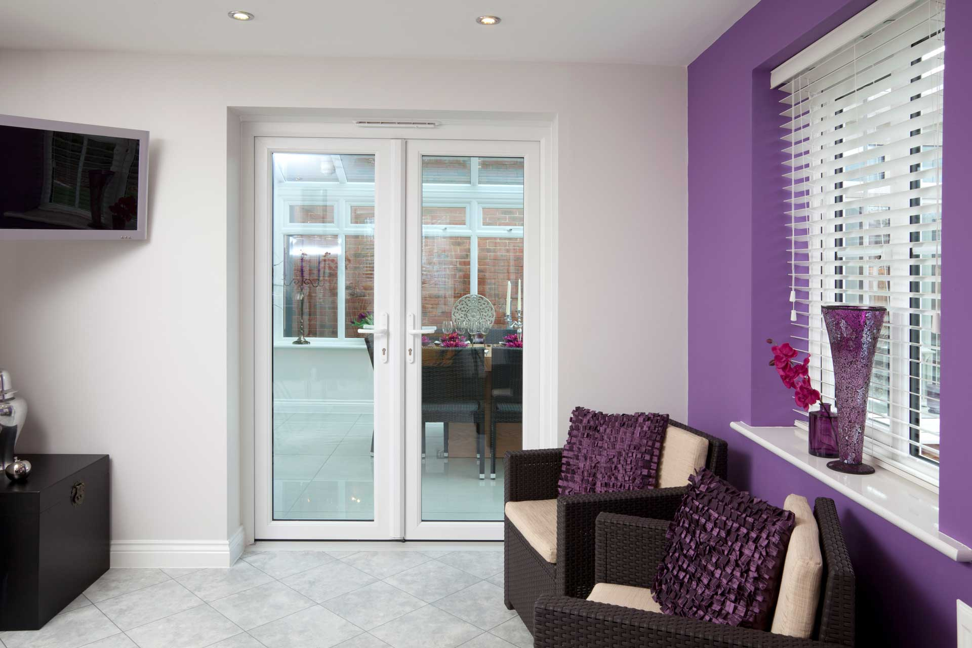 uPVC French door Installation Cardiff South Wales