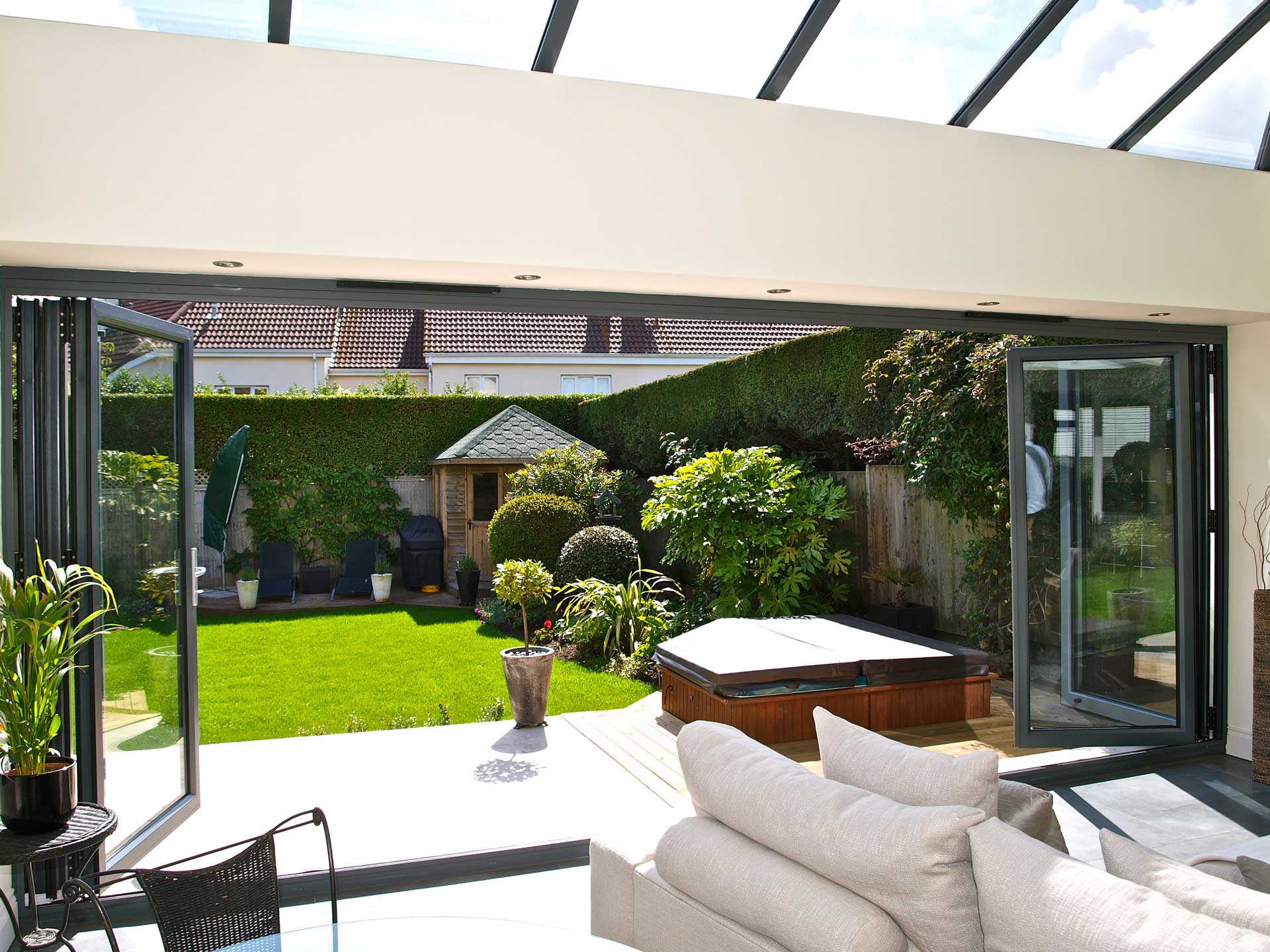 Aluminium Bifold Door Installation Cardiff South Wales