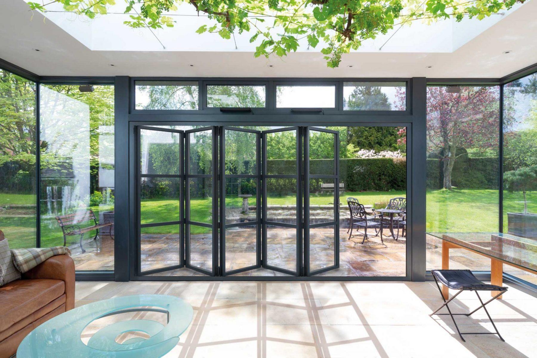 Aluminium Folding Doors Cardiff
