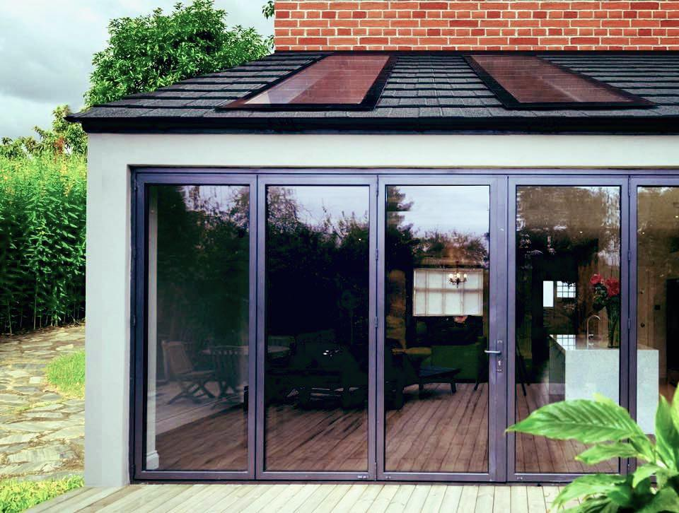 Aluminium Folding Door Newport